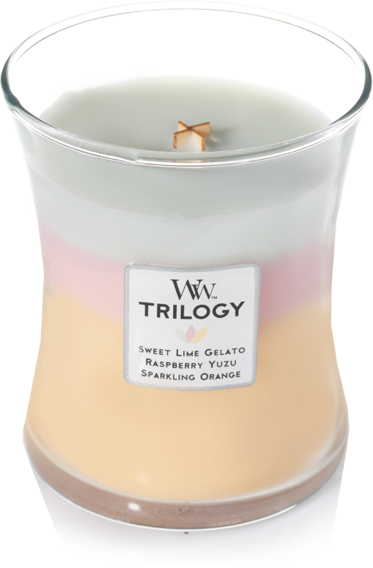 WoodWick Summer Sweets Medium Trilogy Candle
