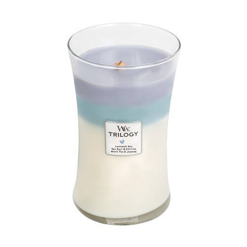 WoodWick Trilogy Large Candle Calming Retreat