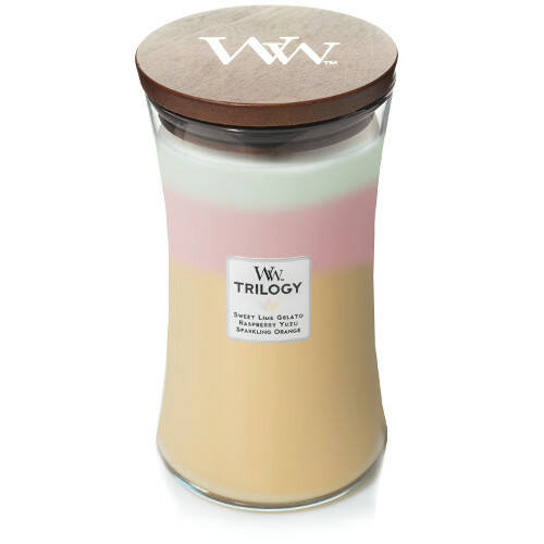 WoodWick Trilogy geurkaars Large Summer Sweets
