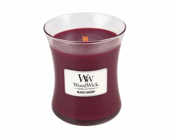 WoodWick® Medium Candle Black Cherry
