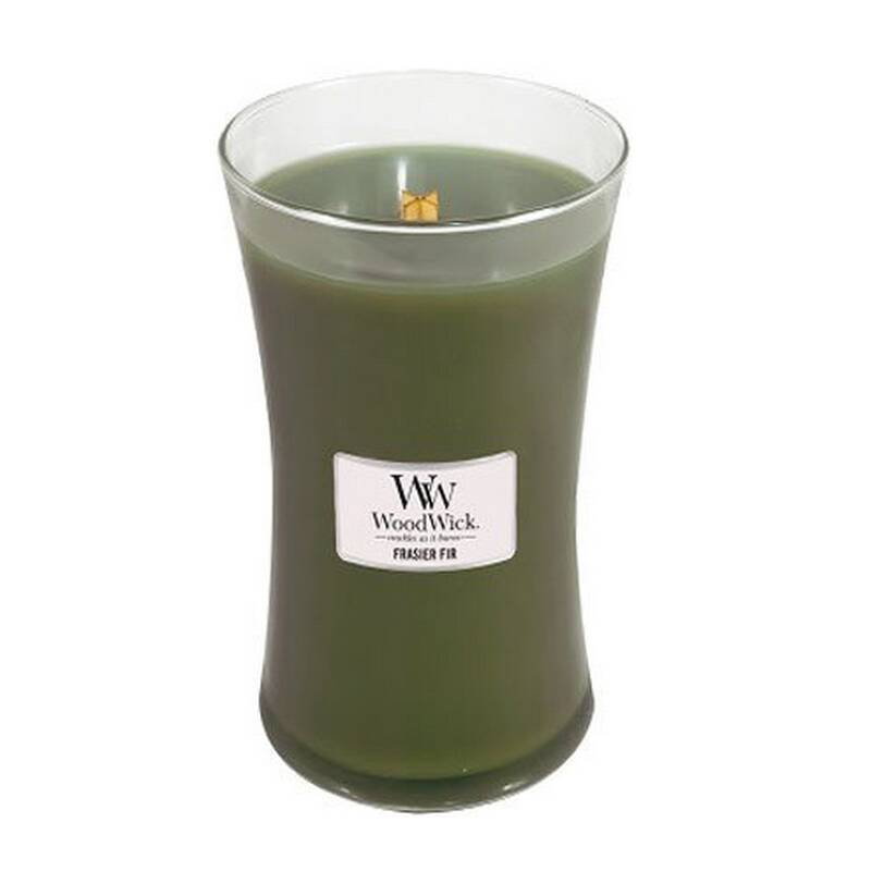 Woodwick Large Candle Frasier Fir