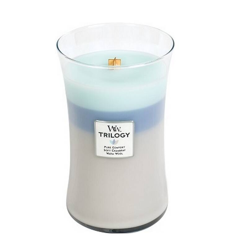 Woodwick Trilogy Large Woven Comfort