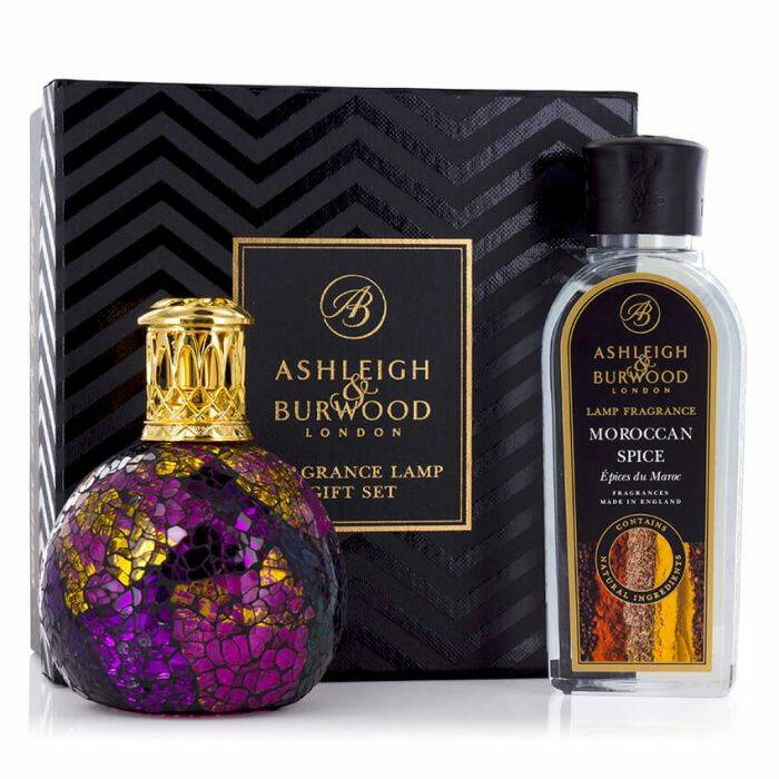 Asleigh & Burwood Lamp Giftset Magenta Crush