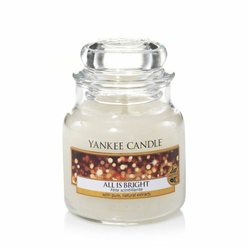 Yankee Candle  All is Bright Small Jar