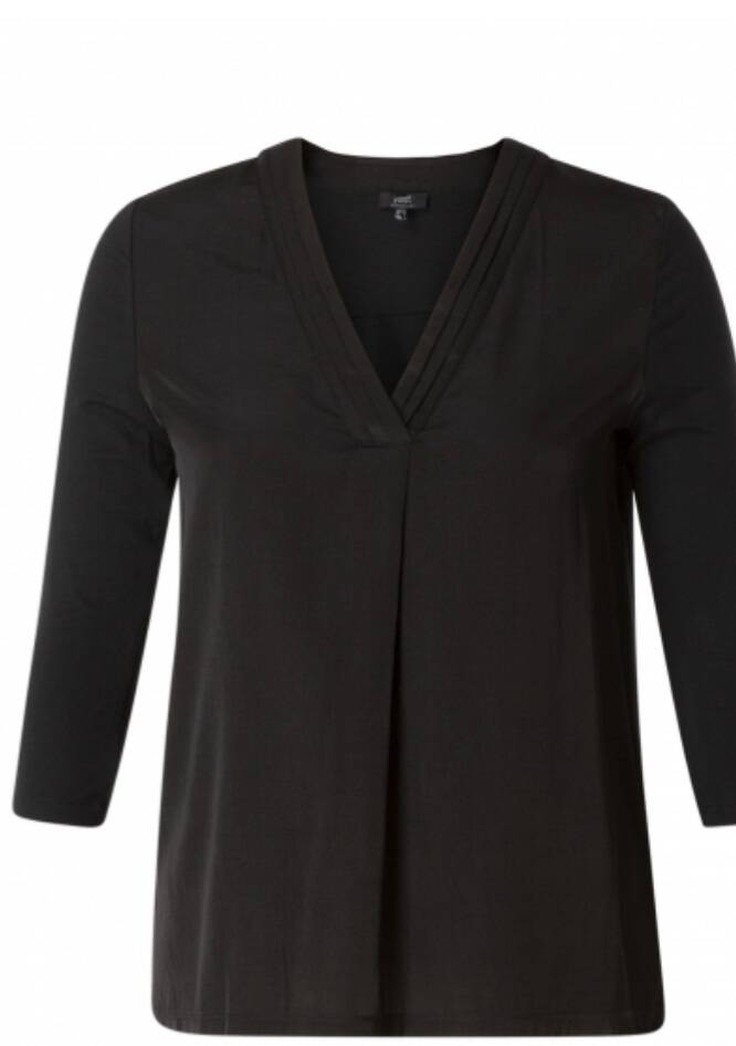 YESTA BLOUSE/ SHIRT ZWART