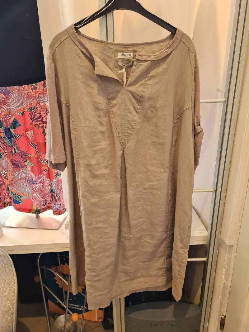 OPEN END JURK TAUPE