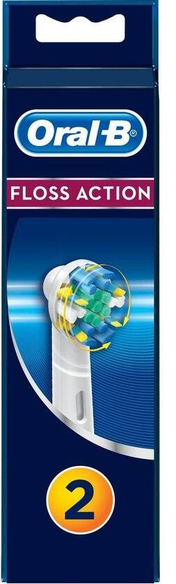Oral-B Floss Action - 2 Opzetborstels