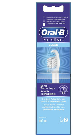 Oral-B Pulsonic Clean - 2 Opzetborstels