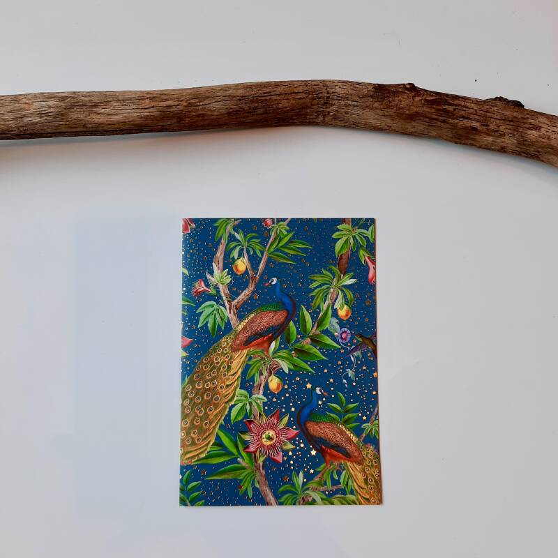 Greeting Card - Passion Peacock