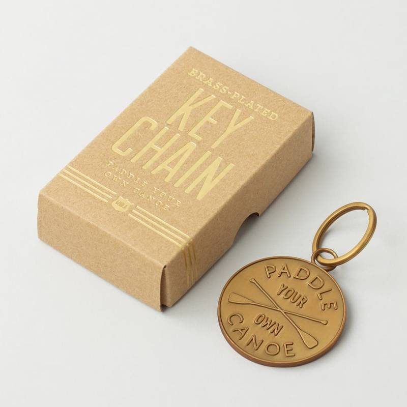 Keychain - Paddle Your Own Canoe