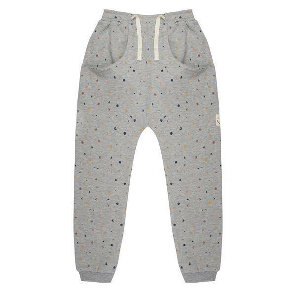 Little Indians X ANTOINE PETERS Pants confetti - grey melange