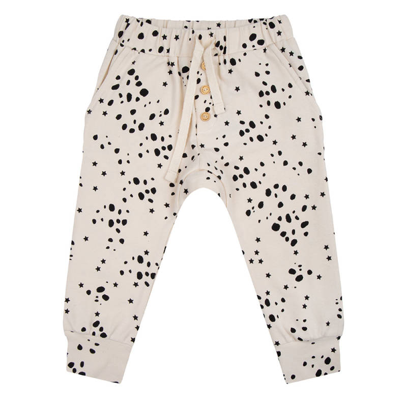 Little Indians Pants- Wild Stars Ecru