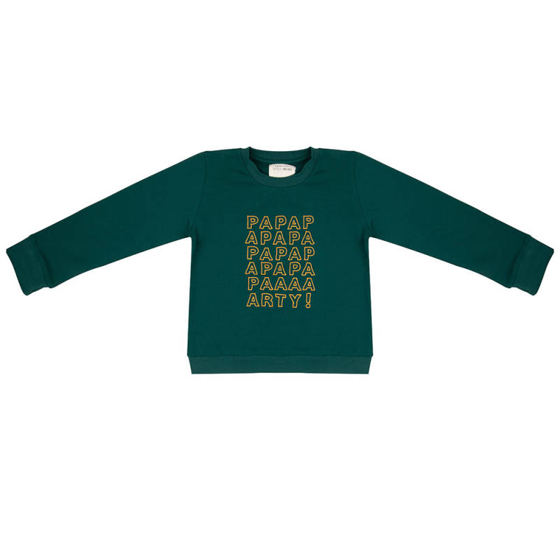 Little Indians Sweater Papapaparty - Forest Rain
