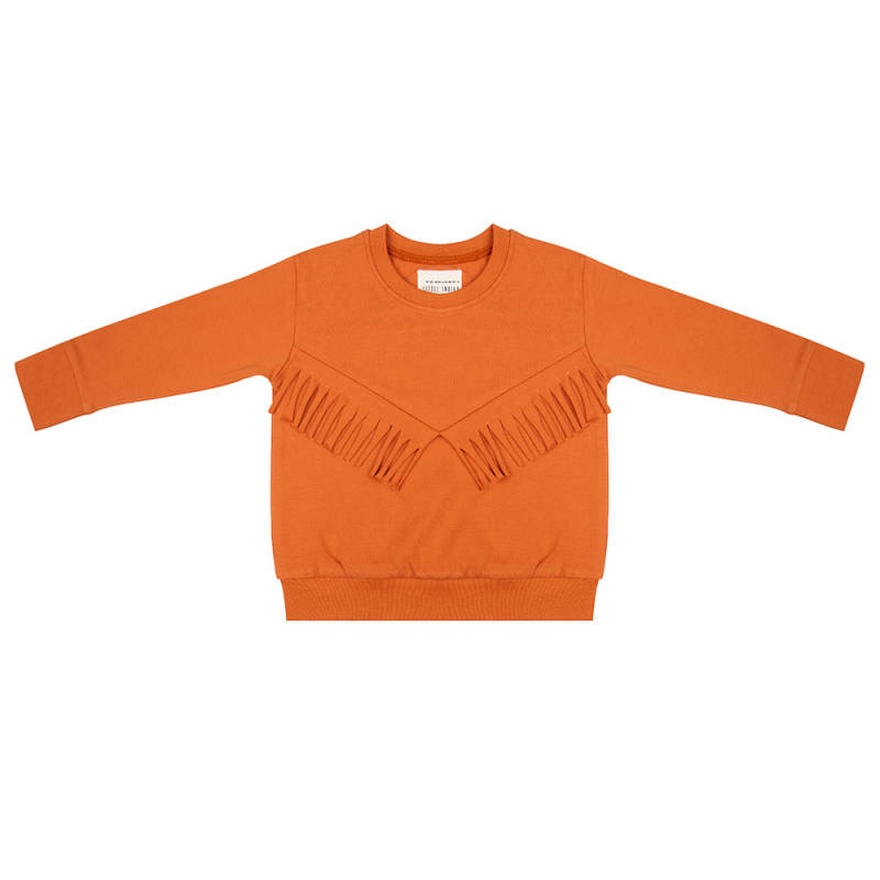 Little Indians Boho Sweater - Bombay Brown