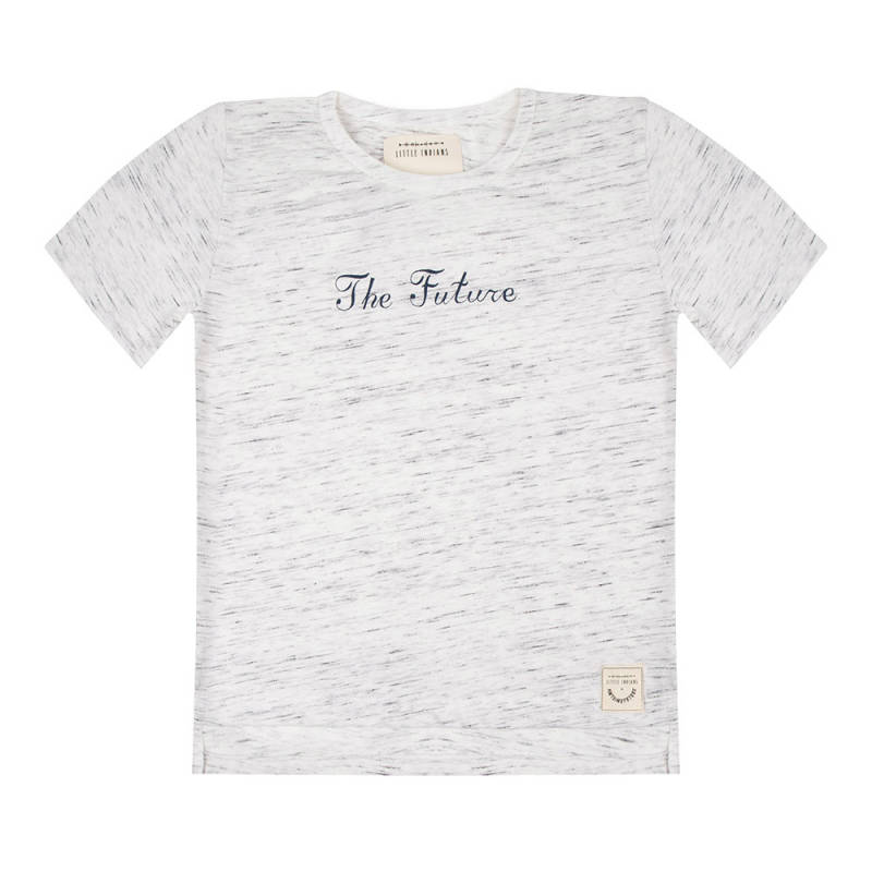 Little Indians Tshirt The future 02 Baked Clay