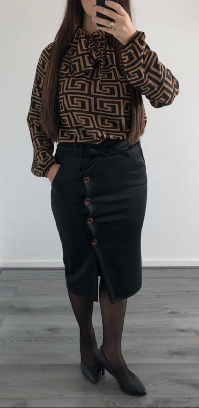 Blouse Roos Bruin