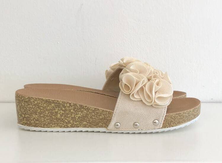 Slippers Ally Beige