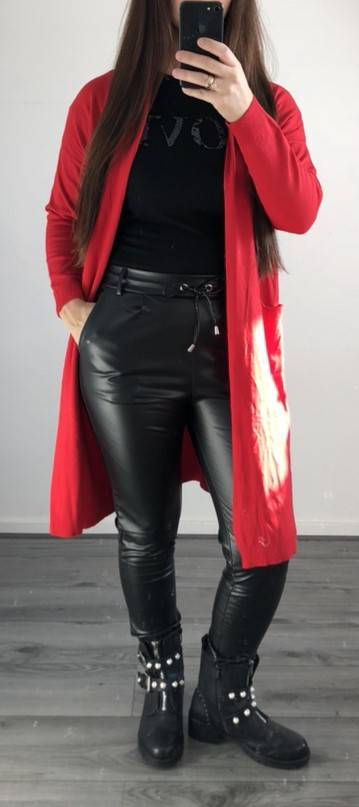 Vest Dilay Rood
