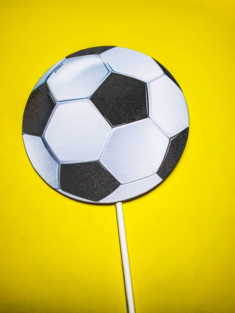 cake toppers voetbal ST12