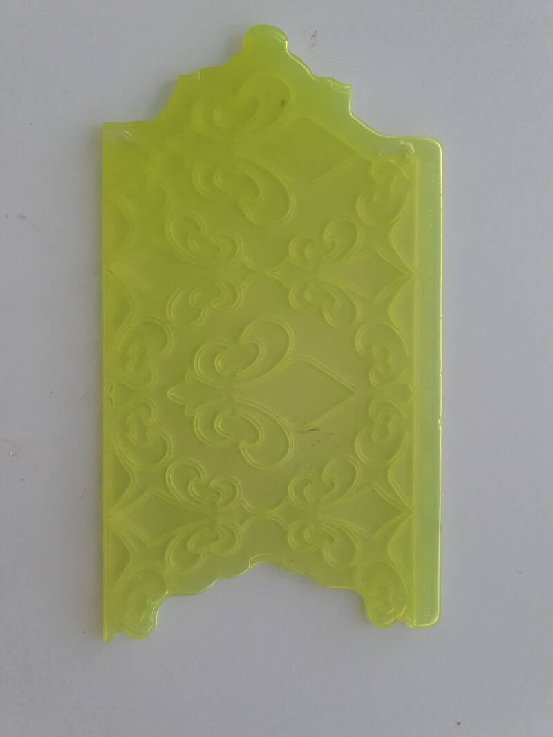 FILIGREE DAMASK PATTERN SILICONE ONLAY MOULD - MARVELOUS MOLDS OR51