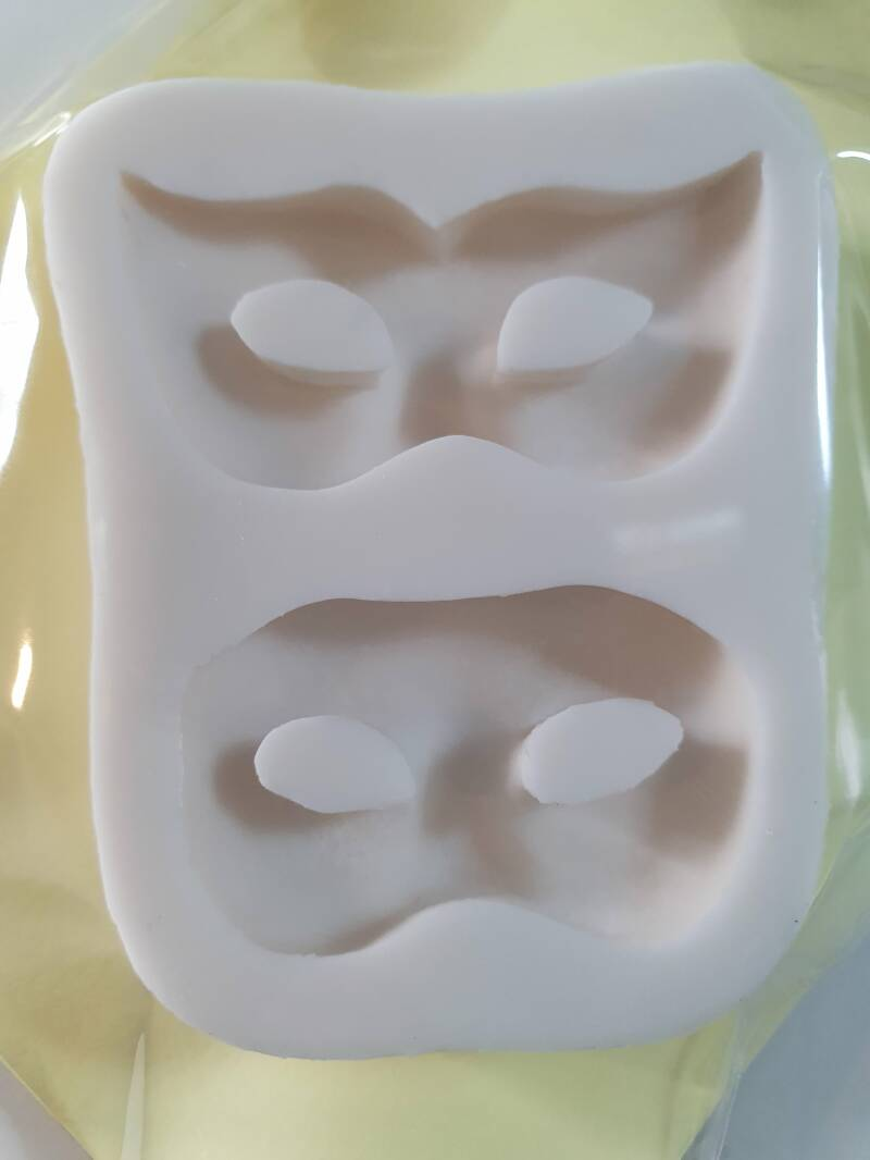 Maskers mal van silicone OR47