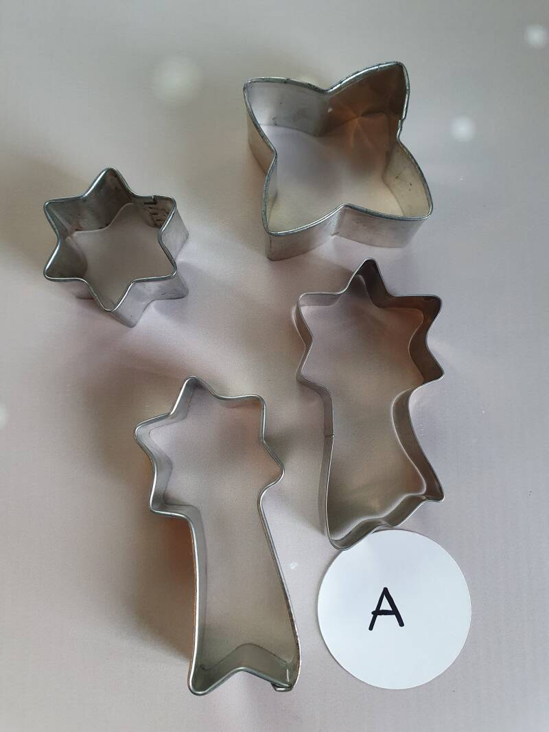 diverse sterren cookie cutter set RZ46