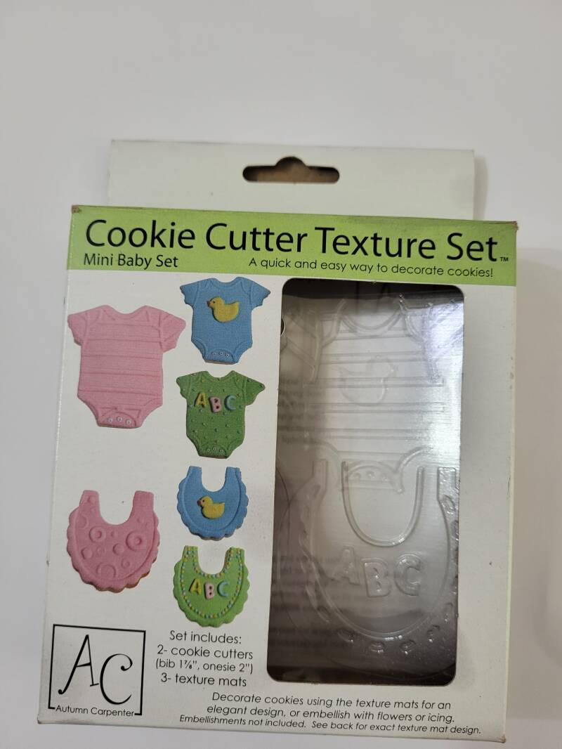 Cookie cutter texture set baby BBY1