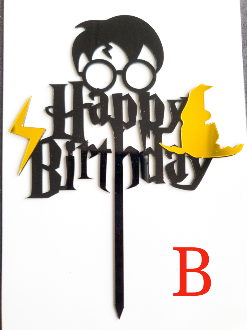 Happy Birthday Potter Toppers ST34