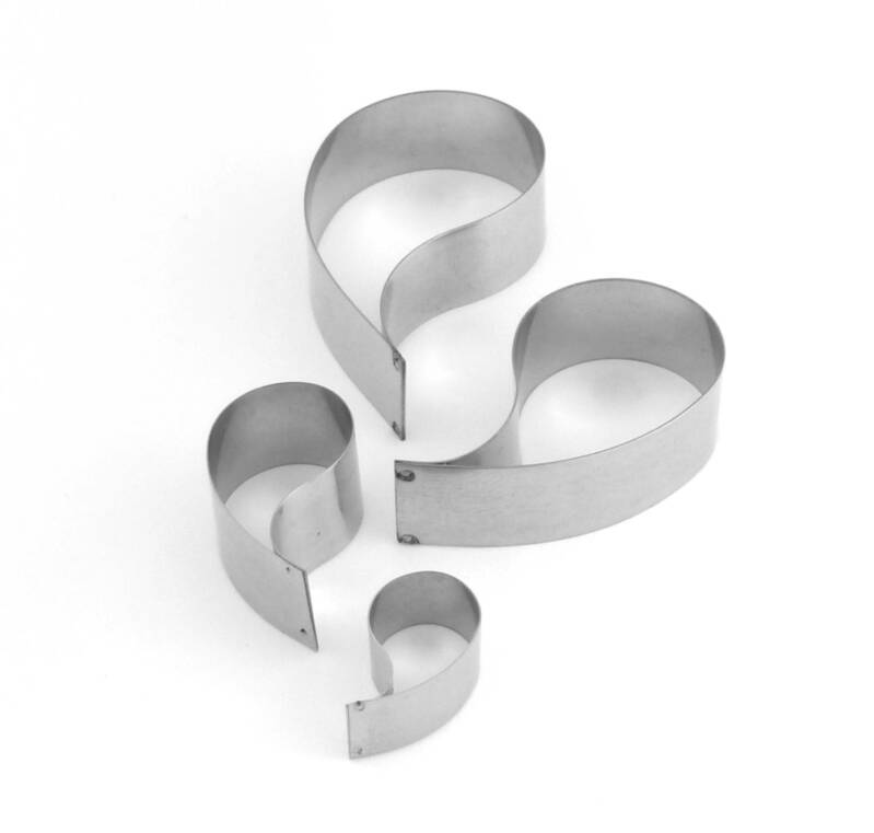 Amoebe cookie cutter C55