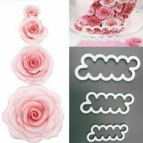 EASY ROSE CUTTER 3 PIECES D15
