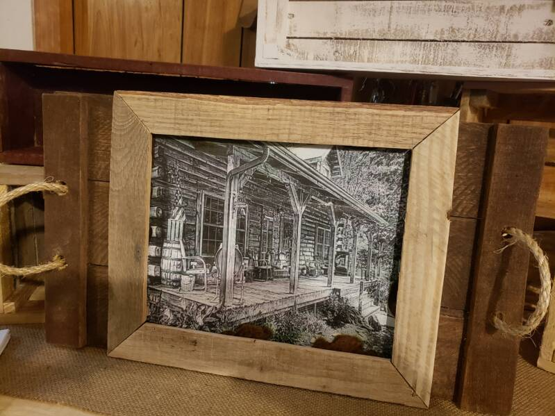 RUSTIC FARMHOUSE UNFINISHED FRAMES