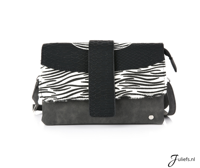 Juliefs™ Damestas | Zebra - Wit