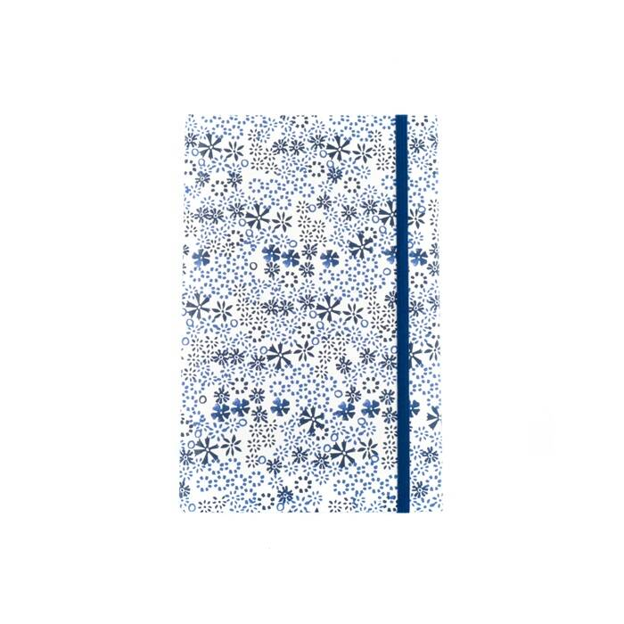 Notebook A5 Indigo lace
