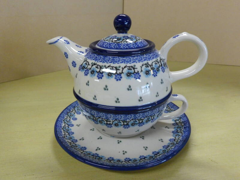 Tea for one Royal blue