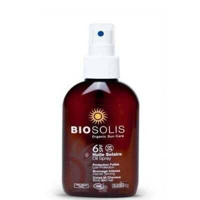 BIOSOLIS - SPF 6 - Sun Oil Spray - zonnebrandolie - 125 ml
