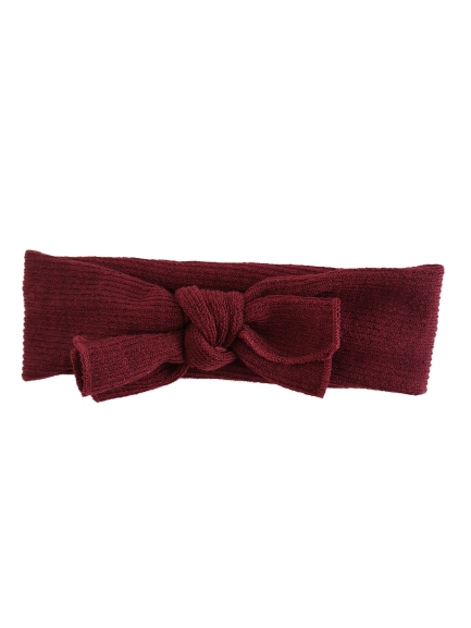 Headband rib / Bordeaux