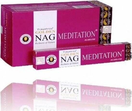 Wierook Golden Nag Meditation - 15 g