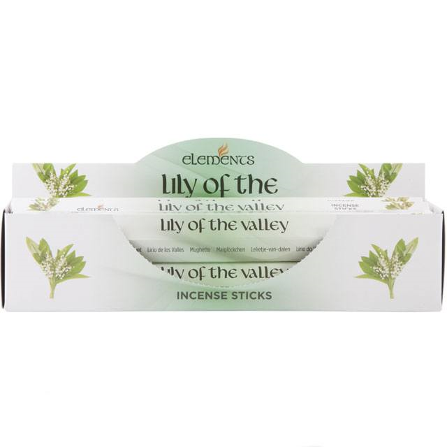 Lily of the Valley wierook elements
