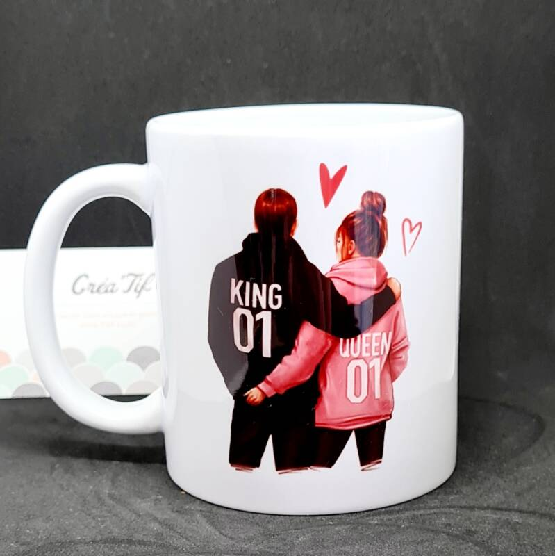 Mug King and Queen