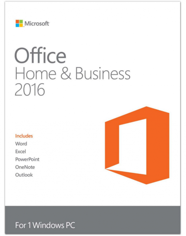 Office 2016 Home & Business (Windows)