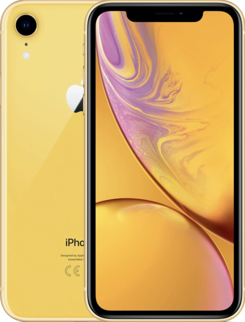 Apple iPhone XR geel 128GB  (occasion)