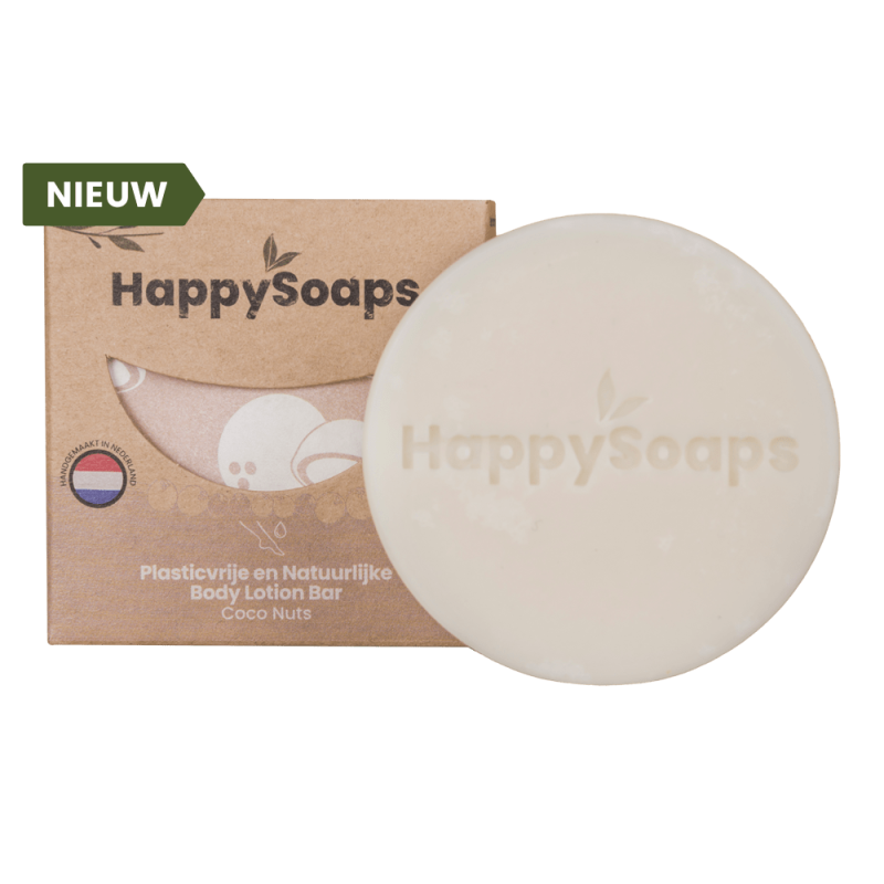 HappySoaps | Body Lotion Bar |  Coco Nuts