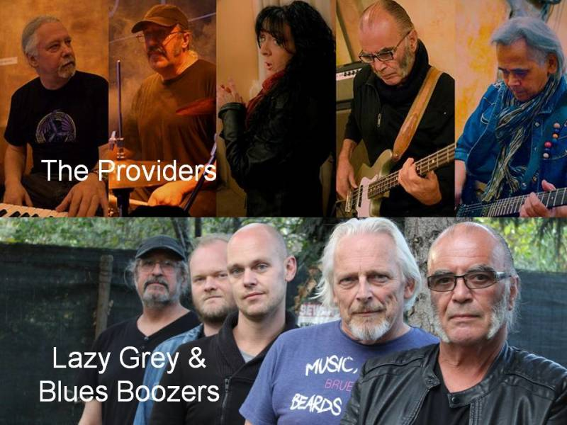 The Providers + Lazy grey & The Blues Boozers - 20/3/2020, 20:00