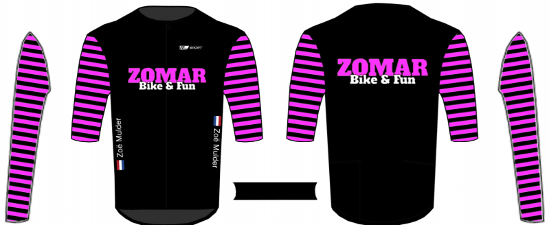 ZOMAR BIKE & FUN shirt korte mouw