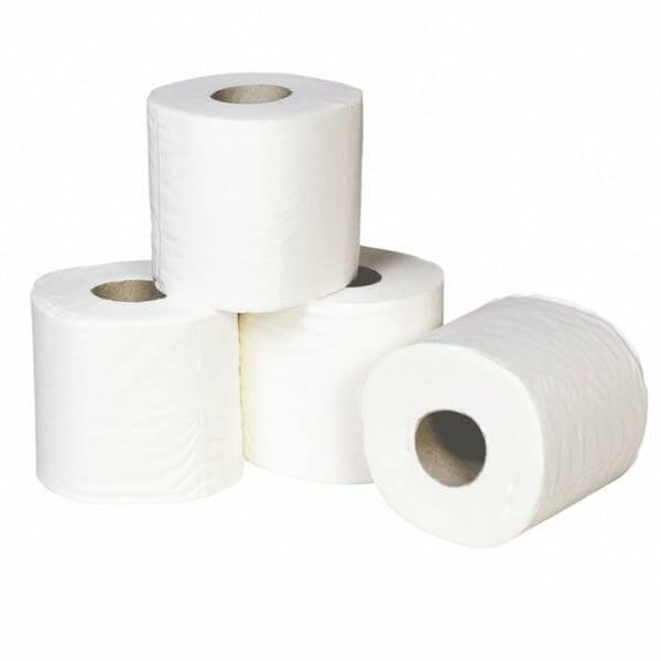 100% Recycled UK Made Toilet Rolls