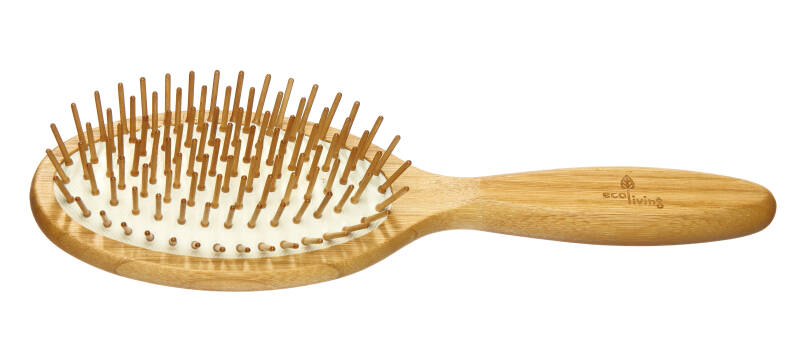 Wooden Hairbrush - Extra-long Wooden Pins