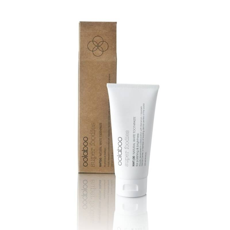 Oolaboo Super Foodies Natural White Toothpaste – 100ml