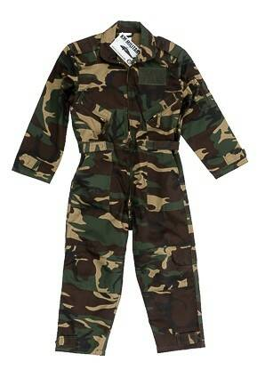 Camouflage Pilot Overall Junior