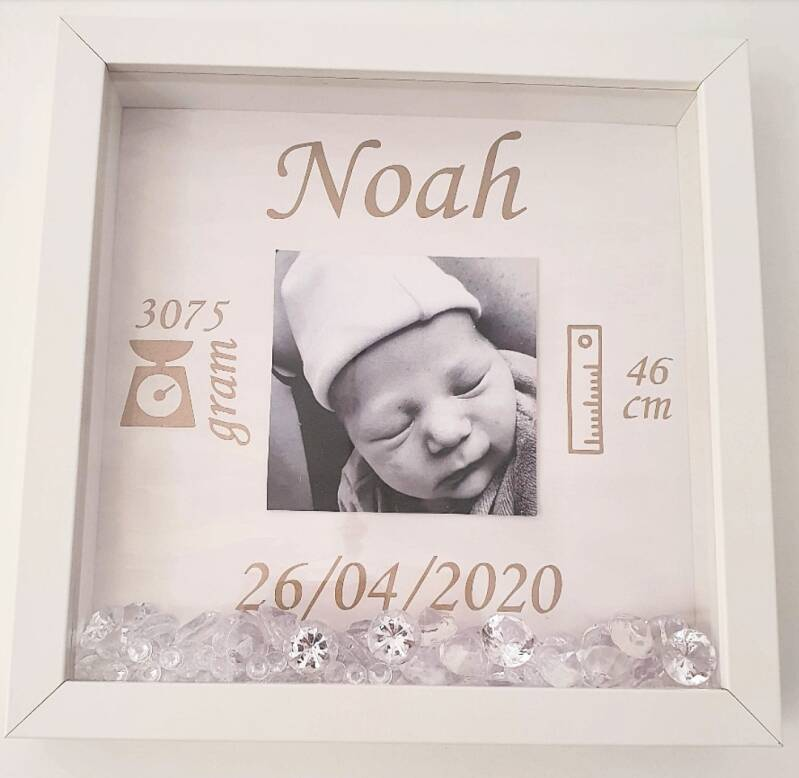 3D shadowbox box