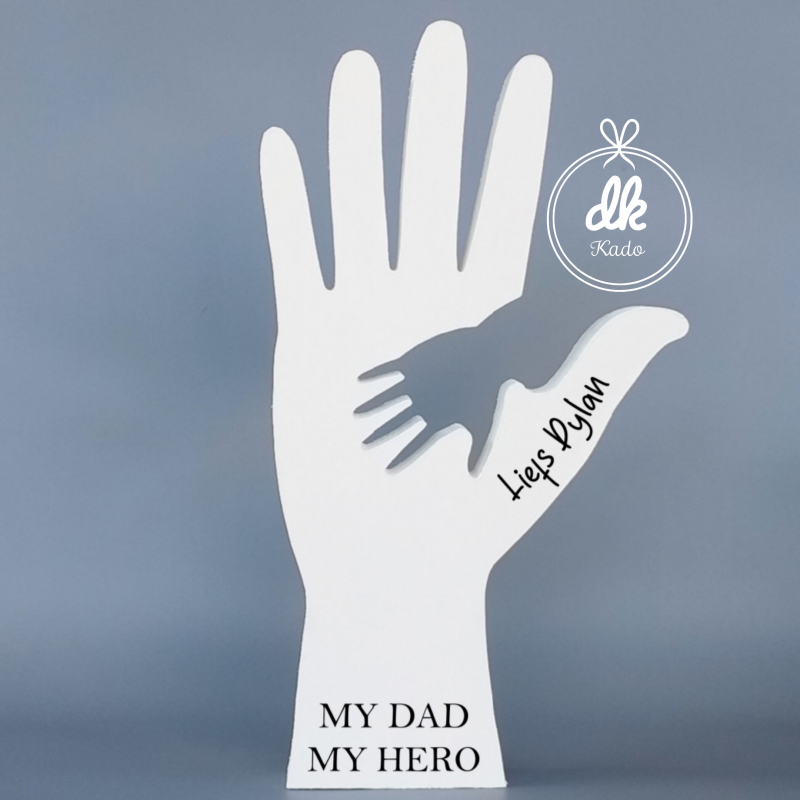 Hand vader en kind - My dad, My hero